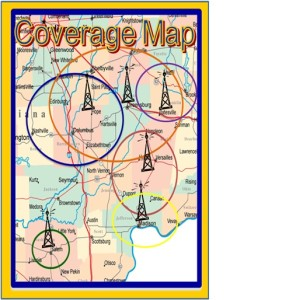 WYGS coverage map