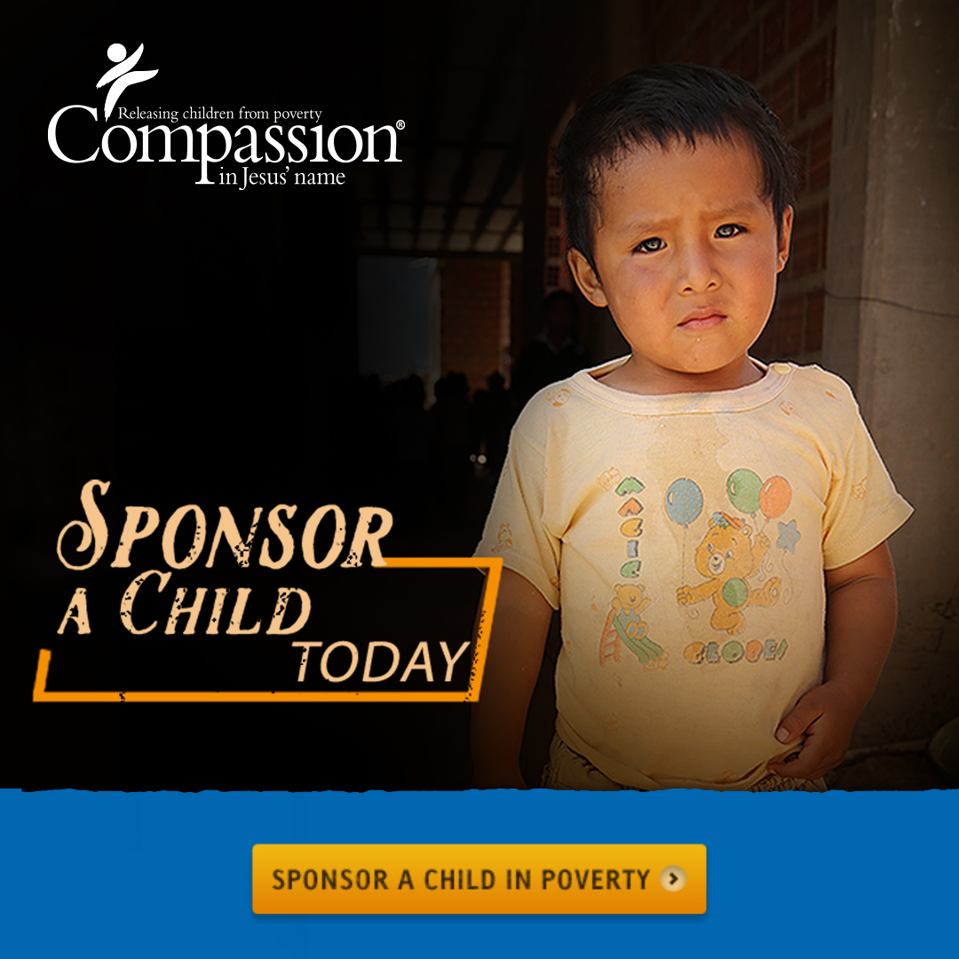 Click here to sponsor a child today
